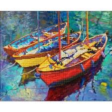 Diamond Facet Art Kit- Dream Boats