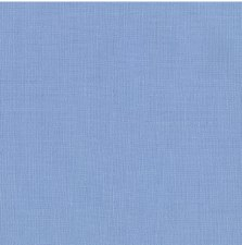 "Kona Cotton 44"" Fabric- Blues- Dresden"