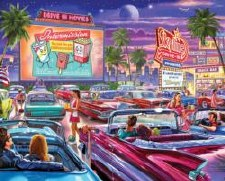 Drive-In Movie - 1000 Pc Jigsa