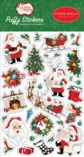 Dear Santa Puffy Stickers