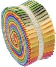 Roll-Up Fabric Strips- Dusty Kona Palette
