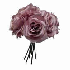 Ashley Rose Wedding Bouquet - Dusty Lavender