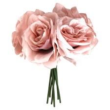 Ashley Rose Wedding Bouquet- Dusty Pink