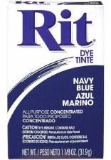 Rit Powder Dye - Navy Blue