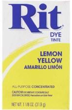 Rit Powder Dye - Lemon Yellow