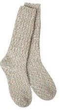 Ragg Crew Socks- Earthy