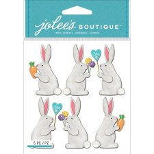 Jolee's Dimensional Stickers- Easter Bunnies