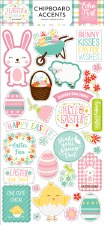 Easter Wishes Chipboard Accents