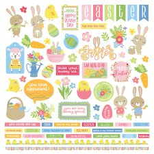 Easter Wishes Sticker Sheet