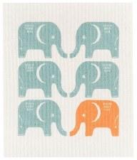 Swedish Dishcloth- Edgar Elephant