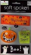 MAMBI Soft Spoken Stickers- Halloween- It's Halloween