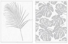We R Memory Keepers Revolution Embossing Folders, 2pk- Heidi Swapp