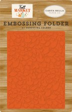 Fall Market Embossing Folder- Welcome Autumn