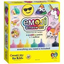 Creativity for Kids Craft Kit- Emoji Window Art