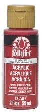 FolkArt 2 Oz. Acrylic Paint- Engine Red