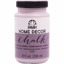 FolkArt Home Decor Chalk Paint 8 oz- English Lavender