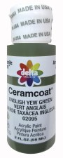 Delta Ceramcoat Acrylic Paint, 2oz- Greens: English Yew Green
