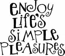 Enjoy Life's Simple Pleasures Vinyl