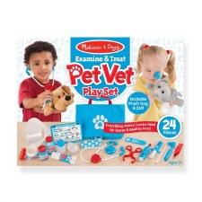 Melissa & Doug Pet Care Play Set- Examine & Treat