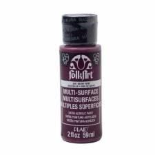 FolkArt 2 Oz. Multi-Surface Acrylic Paint- Berry Wine