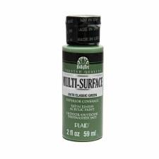FolkArt 2 Oz. Multi-Surface Acrylic Paint- Classic Green