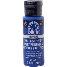 FolkArt 2 Oz. Multi-Surface Acrylic Paint- Cobalt Blue