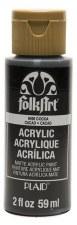 FolkArt 2 Oz. Acrylic Paint- Cocoa