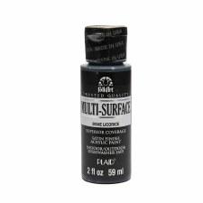 FolkArt 2 Oz. Multi-Surface Acrylic Paint- Licorice