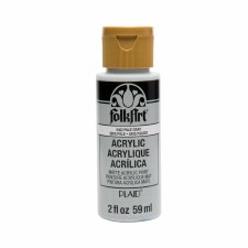 FolkArt 2 Oz. Acrylic Paint- Pale Gray