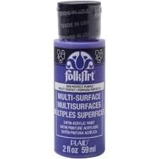 FolkArt 2 Oz. Multi-Surface Acrylic Paint- Perfect Purple