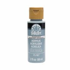 FolkArt 2 Oz. Acrylic Paint- Silver Marlin