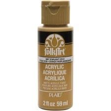 FolkArt 2 Oz. Acrylic Paint- Starlight Gold