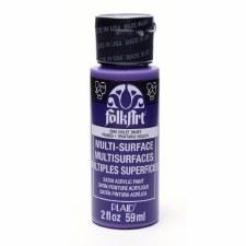 FolkArt 2 Oz. Multi-Surface Acrylic Paint- Violet Pansy