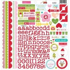 Fa La La Sticker Sheet