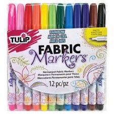 Fabric Markers, Fine Tip- 12ct