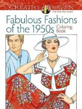 Creative Haven Adult Coloring Book- Fabulous 1950's