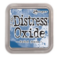Tim Holtz Distress Oxide- Faded Jeans Ink Pad