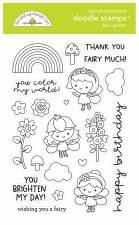 Fairy Garden Doodle Stamps