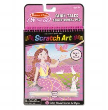 Melissa & Doug On The Go Scratch Art- Fairy Tale