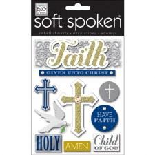 MAMBI Soft Spoken Stickers- Faith- Faith