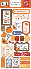 Fall Chipboard- Phrases