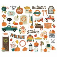 Fall Farmhouse Bits & Pieces Die Cuts