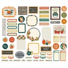 Fall Farmhouse Bits & Pieces- Journal Die Cuts