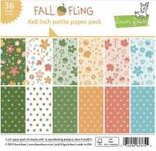 Fall Fling 6x6 Petite Paper Pack