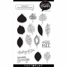Say It in Stamps Fall Leaves Stamp Set