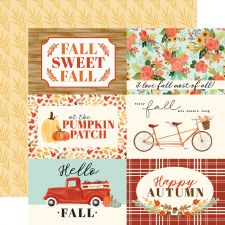Fall Market 12x12 Paper- 4x6 Cards