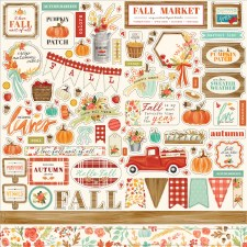 Fall Market Sticker Sheet