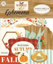 Fall Market Ephemera Die Cuts