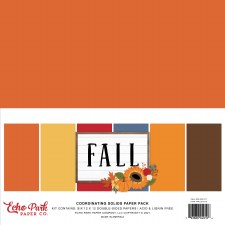 Fall Solids Paper Kit