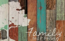 Pallet Decor- Family First & Forever